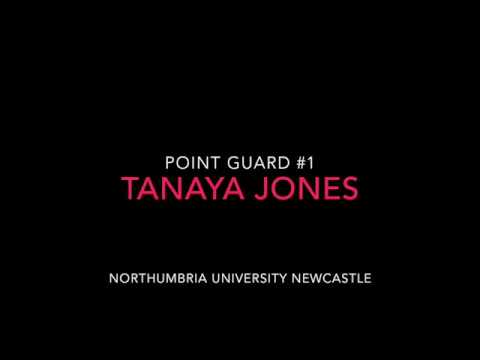 Tanaya Jones - Point Guard at Northumbria Uni Newcastle #1