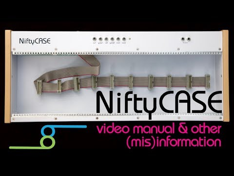 NiftyCASE video manual and (mis)information