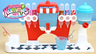 Yummy Nummies Soda Shoppe Maker Playset - Make Your Own Tiny Soda