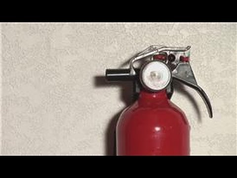 Home Safety Tips : How to Install a Fire Extinguisher