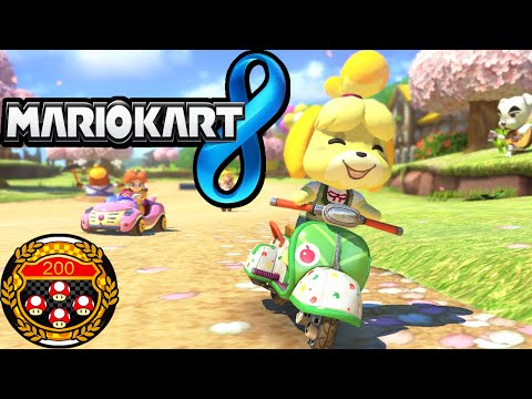 Mario Kart 8 200cc LIVE Tournament #1 Online DLC Pack Cups I