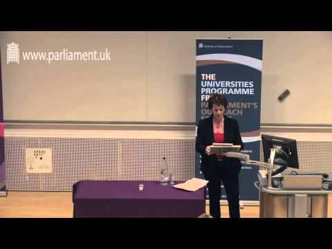 UK Parliament Open Lecture – Rt Hon Anne Milton MP: The Role
