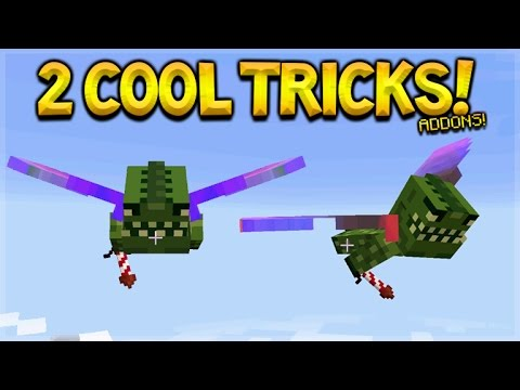 Minecraft Pocket Edition - 2 Cool Elytra Tips And Tricks Addons For Survival Players