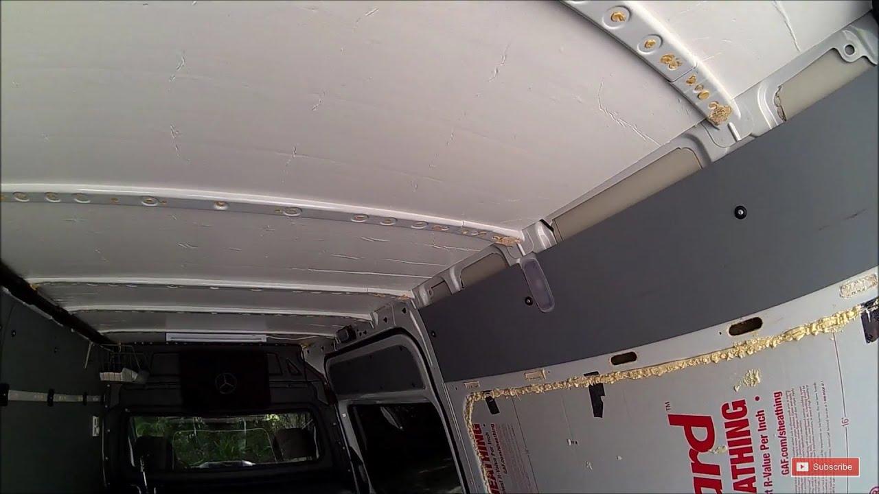 Sprinter Insulation Custom Conversion Rv Diy