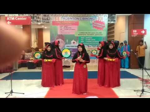 Qasidah Al Fatah Depok @IndosiarID #FestivalRamadhan @Video.Com