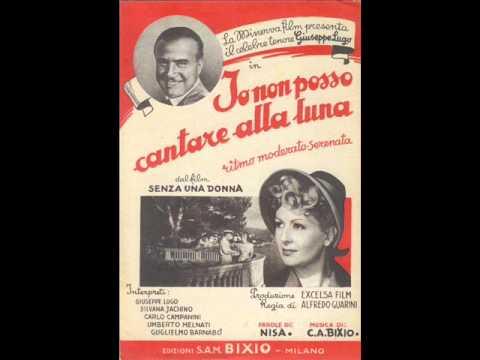 Giuseppe Lugo - Io non posso cantare alla luna (con testo).wmv