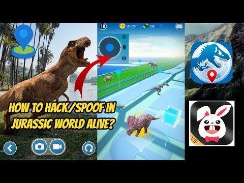 How To Hack/Spoof in Jurassic World Alive iOS/Android - YouTube