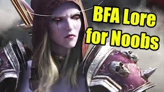 WoW Battle for Azeroth Lore for Noobs with Nobbel and Crendor | WoWcrendor