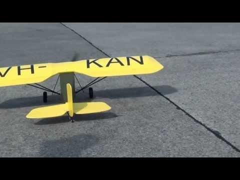 ABC Robin RC, maiden flight at Tempelhof Airport Berlin. EDDI.