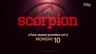 Scorpion | New Season Oct 3 | Monday 10MT