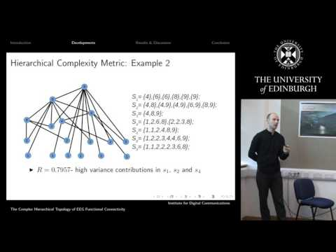 The Complex Hierarchical Topology of EEG Functional Connectivity - Keith Smith
