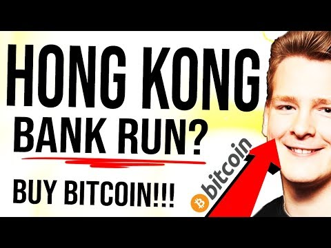 HONG KONG ATMs EMPTY!! 😳 BUY Bitcoin AND GOLD! India Bank Problem...