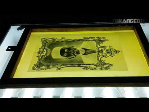 Afdruk Screen Sablon Dengan Raster 75 Lpi Menggunakan Hvs 70 Gram Part 2