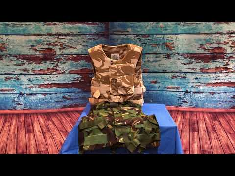 British Army Surplus Body Armour Covers