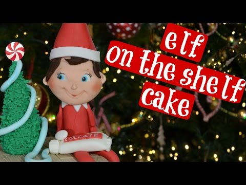 HOW TO MAKE ELF ON THE SHELF CAKE FIGURINE