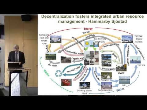 Bonn Water Lecture: Solutions for a water secure and urbanizing world