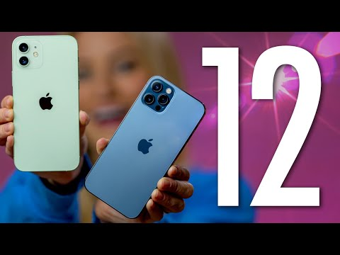 iPhone 12 and 12 Pro Unboxing! - Видео онлайн