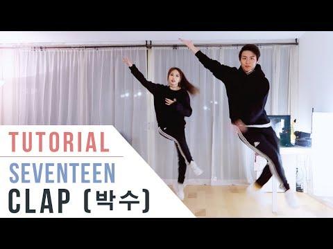 SEVENTEEN(세븐틴) - 박수(CLAP) Dance Tutorial (Mirrored) | Ellen and Brian