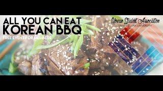 KSA All You Can Eat Korean BBQ Night