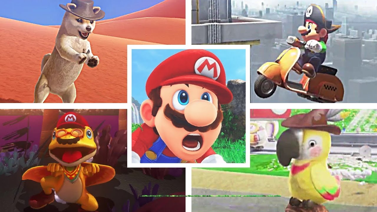 12 FUN And SILLY Glitches in Super Mario Odyssey