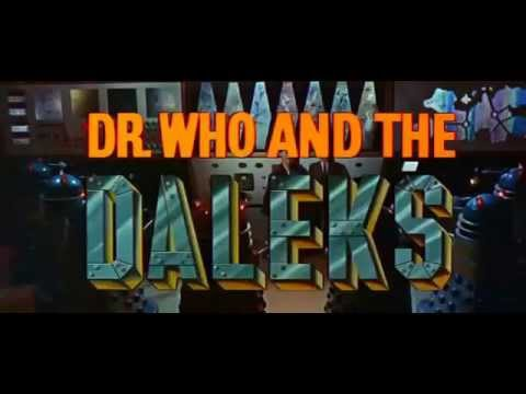 DR WHO AND THE DALEKS TRAILER 1965
