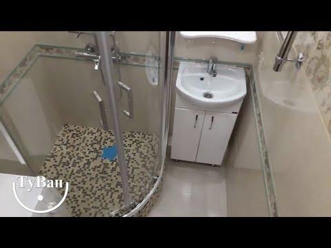 Ванная комната с душевым поддоном