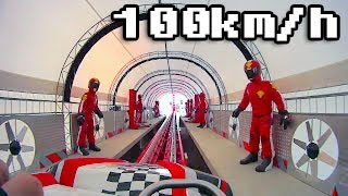 Rollercoaster F1 Formuła 100km/h - Energylandia ZATOR - FullHD