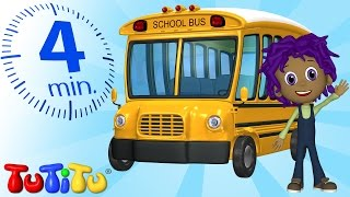 TuTiTu Specials | Back-To-School Bus | Toys and Songs for Children