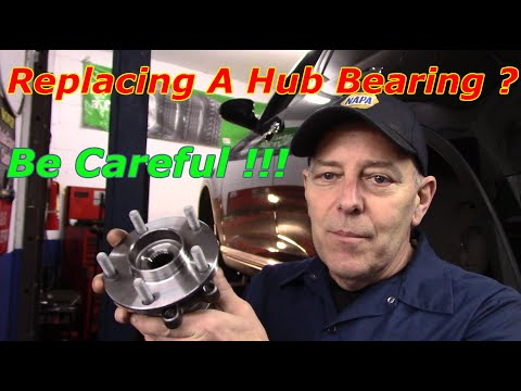 How To Replace The Front Hub Bearing On A 2008 Infiniti  FX35