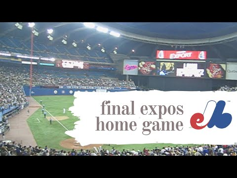 Final Montreal Expos home game