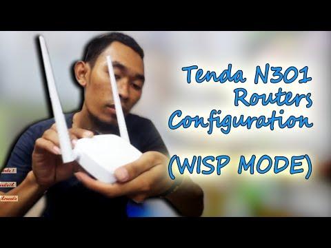 Cara Membuat WIFI Repeater Menggunakan TENDA N301 (Mode WISP)