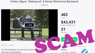 Backzips: A Kickstarter Scam