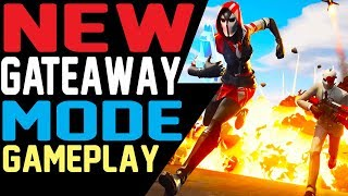 Fortnite GETAWAY MODE GAMEPLAY Explained - WILD CARD SKIN and GRAPPLER GUN Gameplay