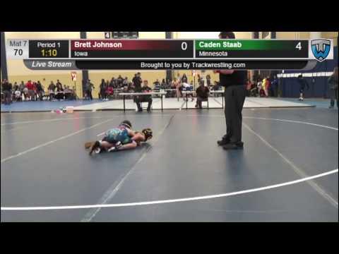 6031 Bantam 70 Brett Johnson Iowa vs Caden Staab Minnesota 7864487104