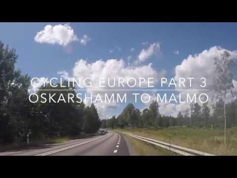 Cycling Europe Part 3: Sweden- Oskarshamn to Malmo