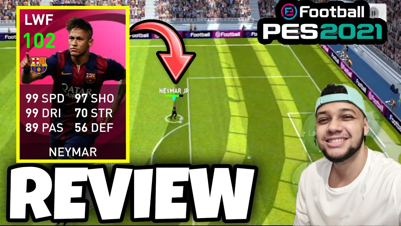 NEYMAR JR 102 😱🔥 ICONIC MOMENT (REVIEW + GAMEPLAY)