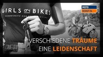 Girls on Bikes - Frauen auf dem Motorrad - Verschiedene Träume, eine Leidenschaft