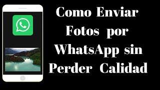 Como Enviar Fotos por WhatsApp sin Perder Calidad - PhoneAndroide