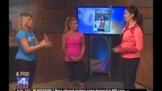 Jenn Zerling on Fox 4 News KC - JZ FITNESS