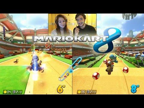 Mario Kart 8 en Couple  DavidLafarge VS MissJirachi  RAGE & FAIL en Facecam  DLC