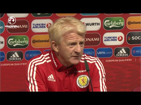 Gordon Strachan & Darren Fletcher pre-Malta press conference