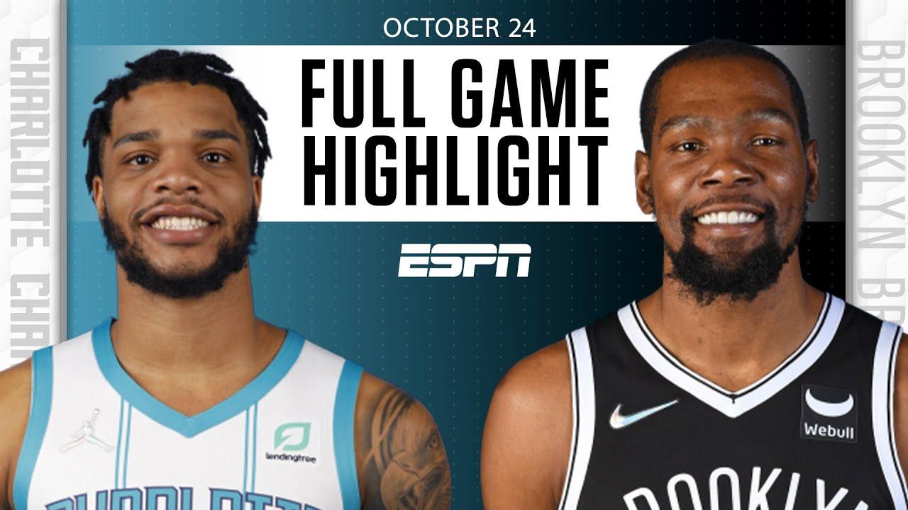 Hornets vs. Nets - Game Recap - October 24, 2021 - ESPN