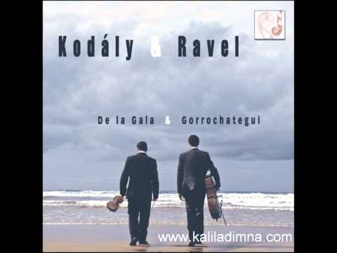 Z.Kodály. Duo for violin and cello Op.7....