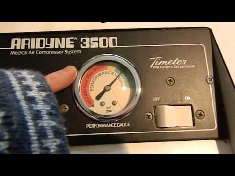 timeter aridyne 3500 medical air compressor-rising phoenix antiques