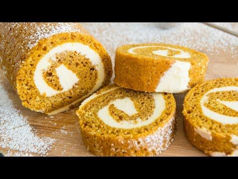 EASY PUMPKIN ROLL CAKE
