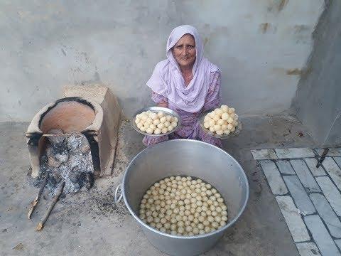 RASGULLA RECIPE prepared by my GRANNY   Bengali Rasgulla Recipe in Hindi   Sponge Rasgulla Recipe