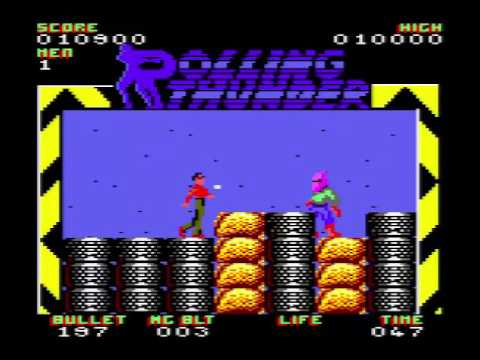 Arcade Perfect? - My Arse!! - Rolling Thunder