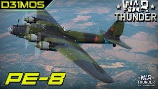 War Thunder! Pe-8! Bomber de depressão =(