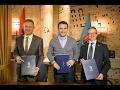 Report TV - Veliaj Memorandum Bashkëpunimi me KiE dhe Ambasadën e Zvicrës
