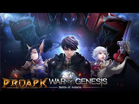 The War of Genesis: Battle of Antaria Android Gameplay